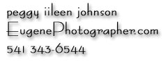 Eugene Photographers Home Page, Portrait Studio Photography, Photographer peggy iileen johnson EugenePhotographer.com 541-343-6544