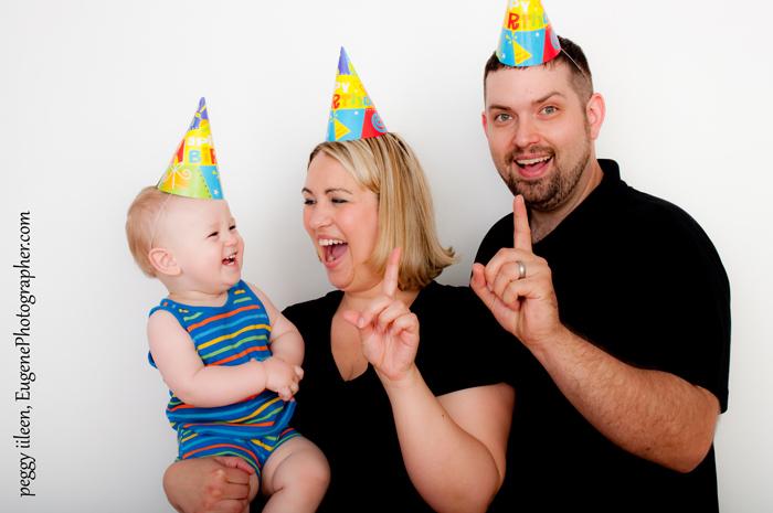 baby birthday photography eugene