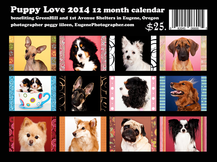 dog-calendar-2014-eugene-oregon-