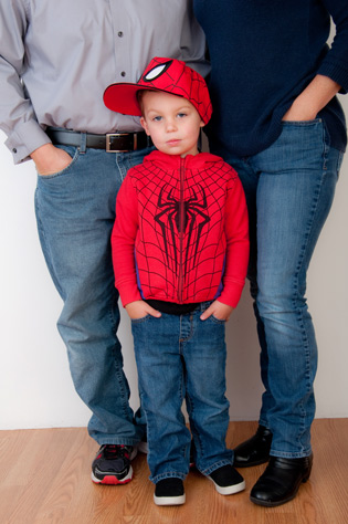 family photography Jackson is four eugene oregon