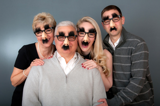 family portrait photography Clarks in the studio