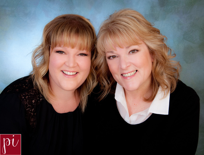 business headshots for Sarah and Margie Hybrid eugene, oregon