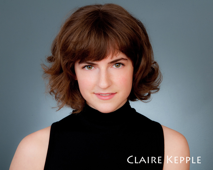 acting headshots for Claire Kepple in eugene, oregon