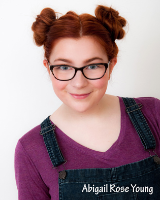 actor headshots for Abigail Rose Young in Eugene, Oregon