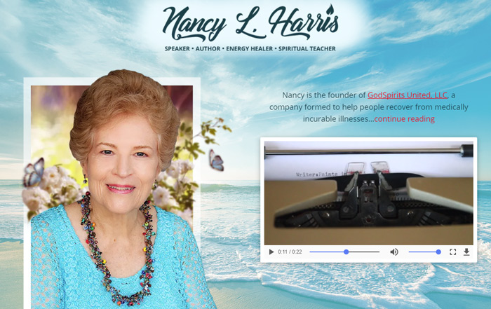 new professional photographs for Nancy Harris.