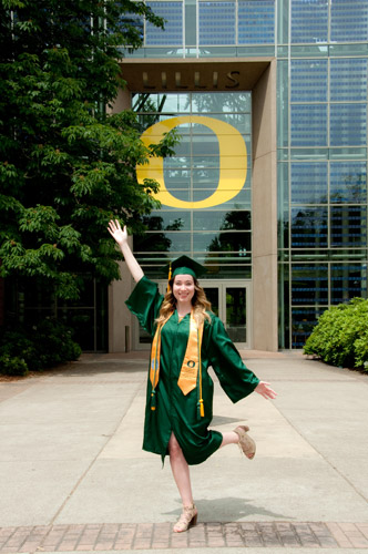 U of O College Grad Madison graduation photography